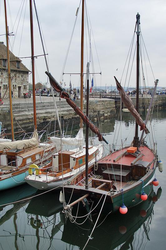 Старый порт, Яхты, Онфлёр