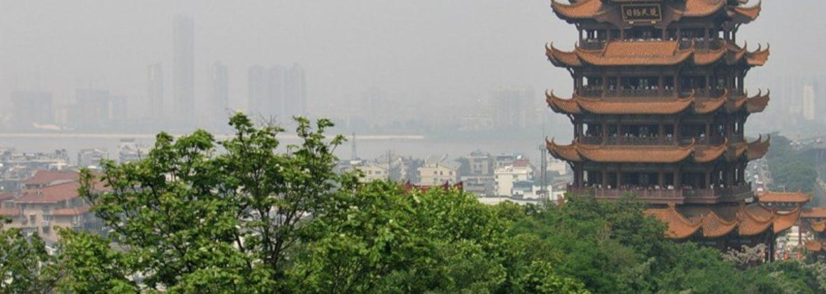Башня Желтого Журавля в Ухане