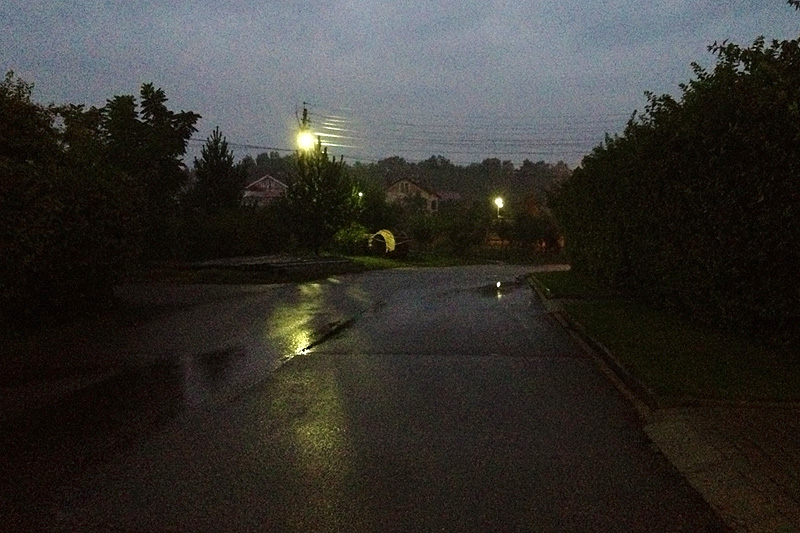 Дождливый вечер