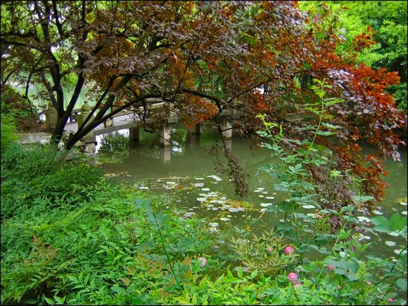 озеро Сиху, Ханчжоу, парк