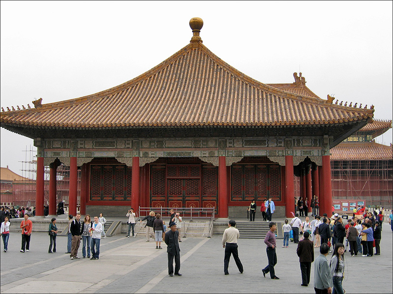 Зал Срединной Гармонии (Чжунхэдянь) в Гугуне, Пекин