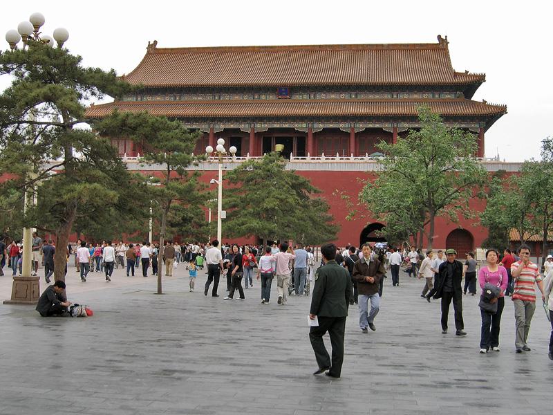 Ворота Дуаньмэнь, Пекин