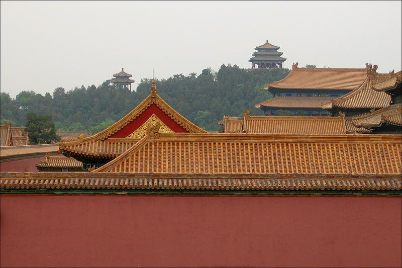 Постройки Гугуна и парк Цзиншань, Пекин