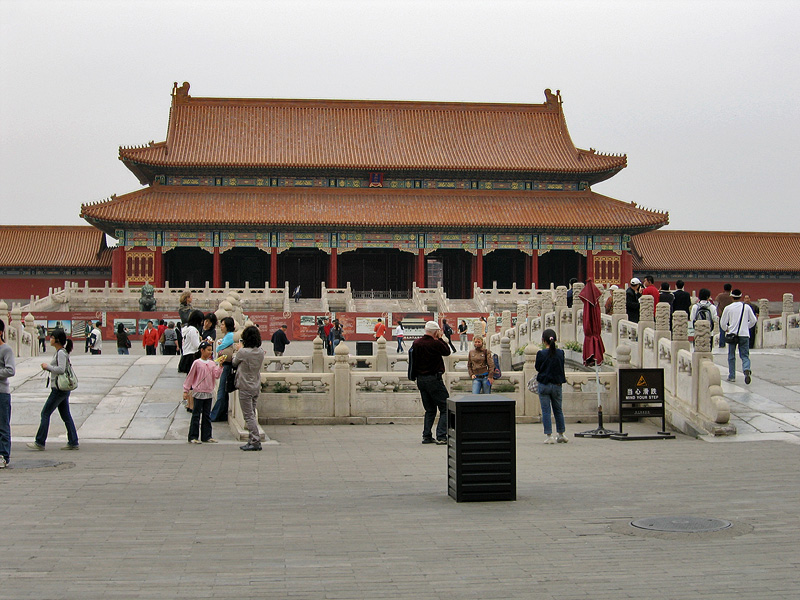Врата Великой Гармонии, Гугун, Пекин