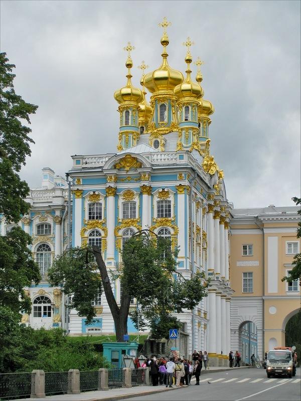 Дворцовая (Воскресенская) церковь, Пушкин