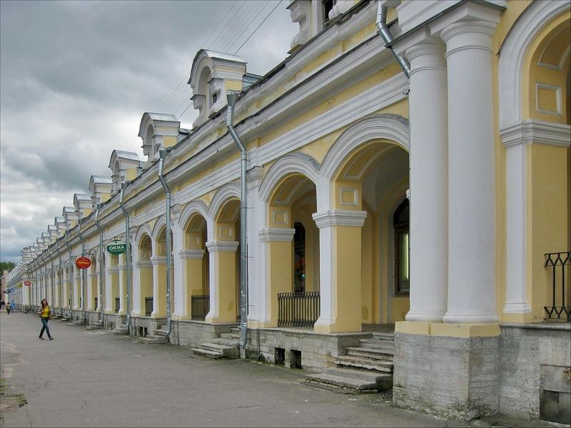 Гостиный двор, Пушкин