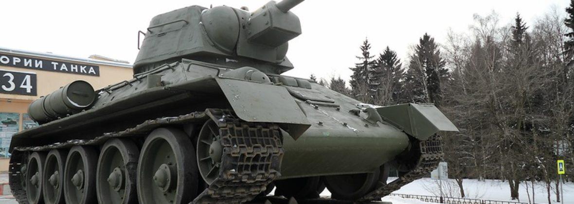 Музейный комплекс «История танка Т-34» в Шолохово