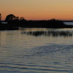 Иваньковское водохранилище, закат