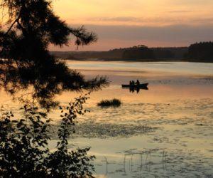 закат, Иваньковское водохранилище