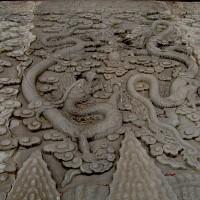 Китайский император и дракон