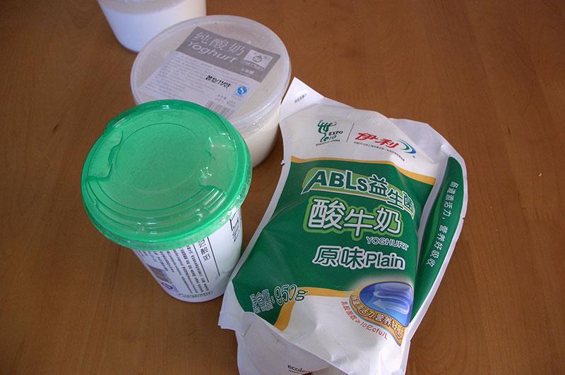 Китайские молочные продукты