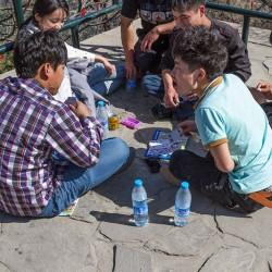 Пекин, игра в карты