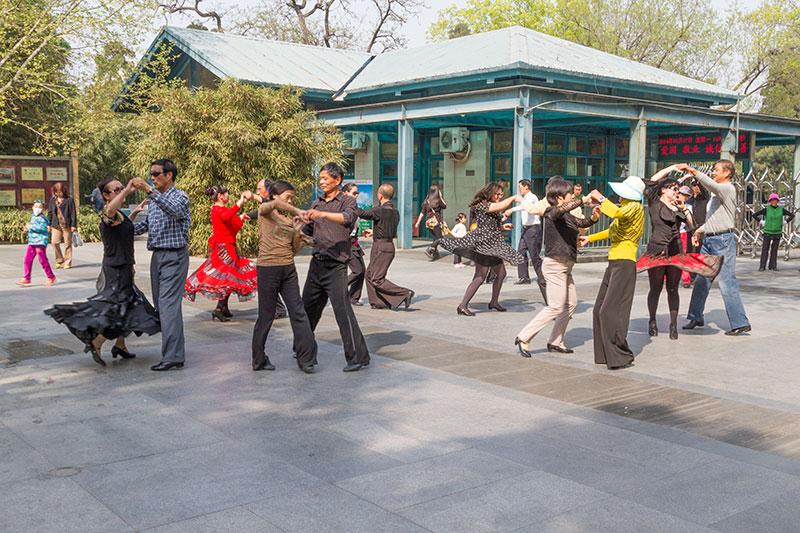 Танцы, Пекин