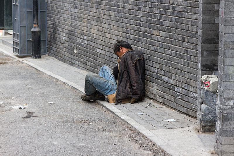 Пьяница, Пекин