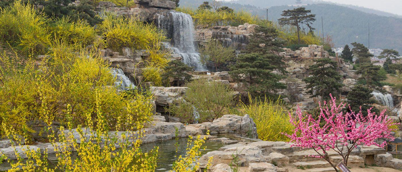 Лесопарк Сишань — водопады, туман и горы