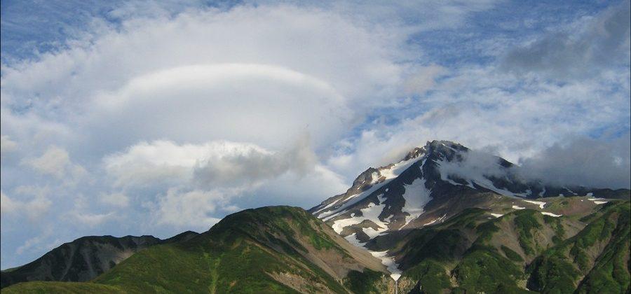 Облака-НЛО на Камчатке