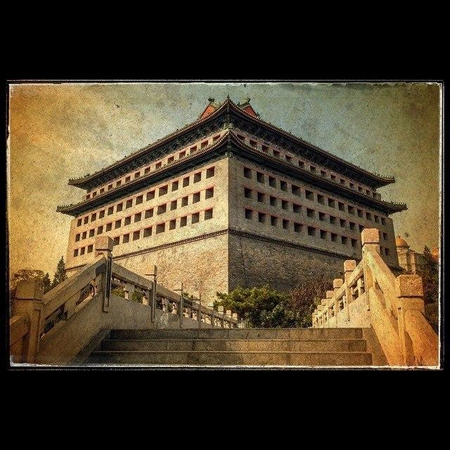 Юго-Восточная угловая башня крепостной стены Пекина
