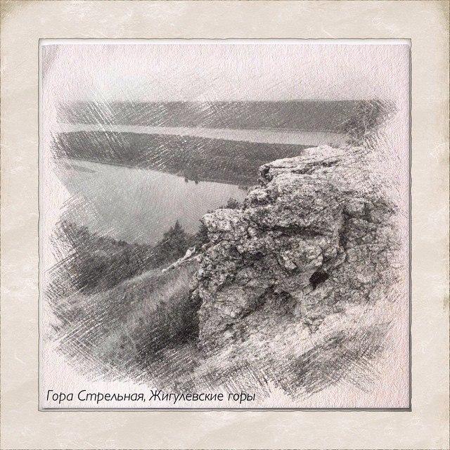 Гора Стрельная в Жигулевских горах
