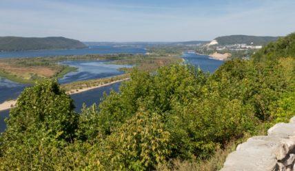 Самара, часть I: мост через реку Сок и Вертолётная площадка