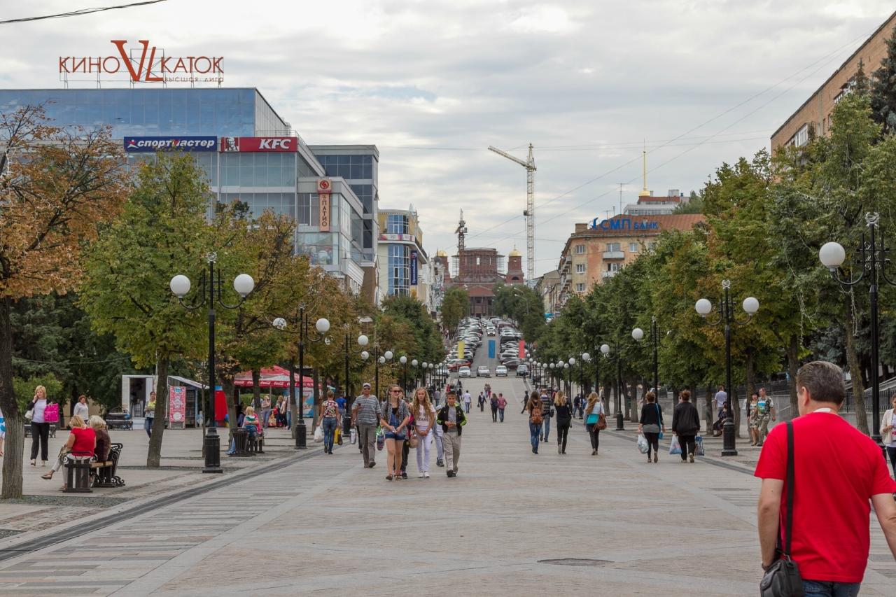 улица московская фото пенза
