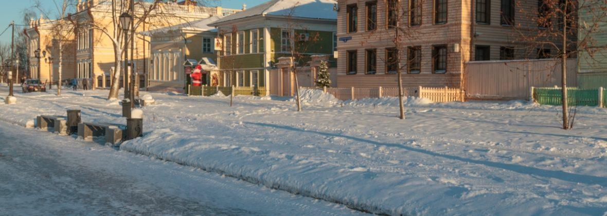 Зимняя поездка за отдыхом и здоровьем, часть 2: Вологда