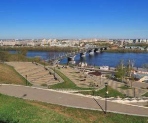 Откос на набережной Федоровского