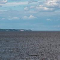 Дорога из Чкаловска в Нижний Новгород через Городец. Горьковская ГЭС