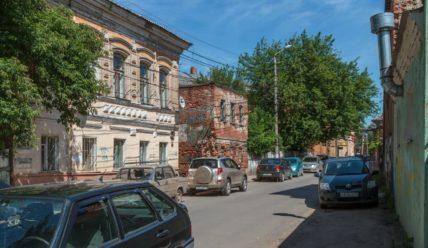 Денисовский переулок в Туле — руины былой роскоши