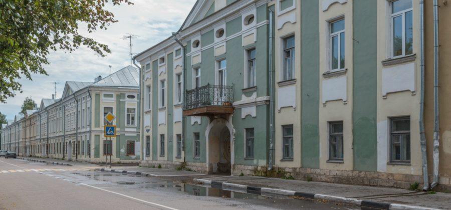 Набережная Степана Разина в Твери