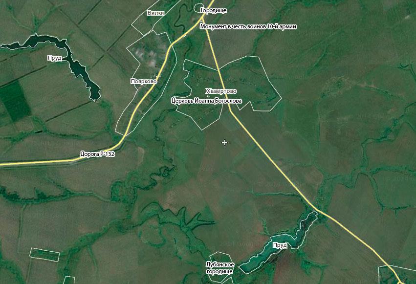 карта Хавертово
