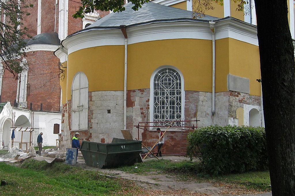 Древнейшая часть Христорождественского собора