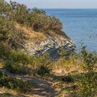 Дикий пляж на Толстом мысу