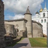 Псковский Кремль (Кром) — твердыня земли Русской