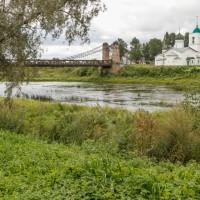 Псковская область, город Остров: следы былого величия