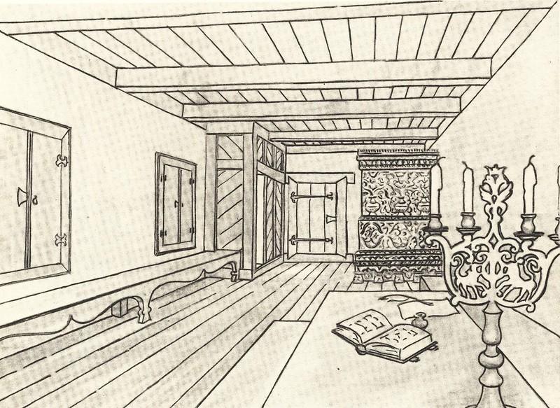 Кабинет хозяина (дом Печенко)