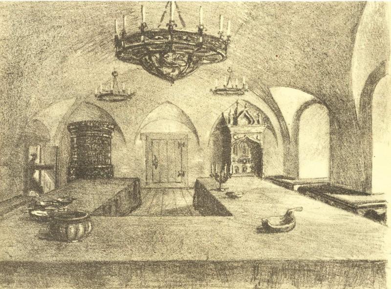 Столовая палата в доме Меншиковых