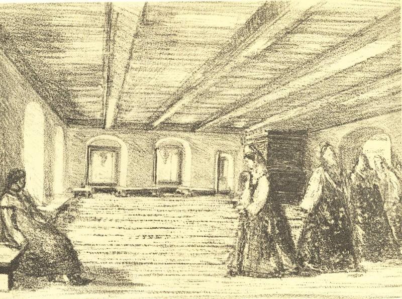 «Потешная» палата в доме Меньшиковых