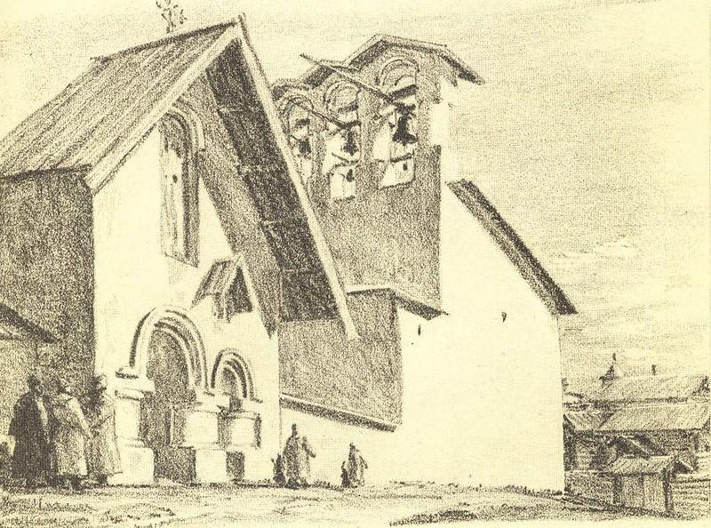 Ворота церкви Козьмы и Демьяна с Примостья