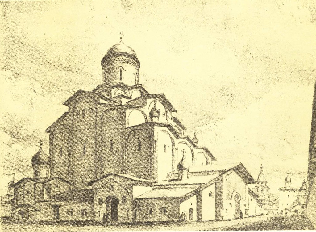 Троицкий собор, Псков