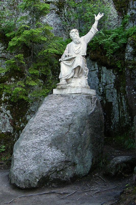 Статуя Вяйнямейнена, Монрепо