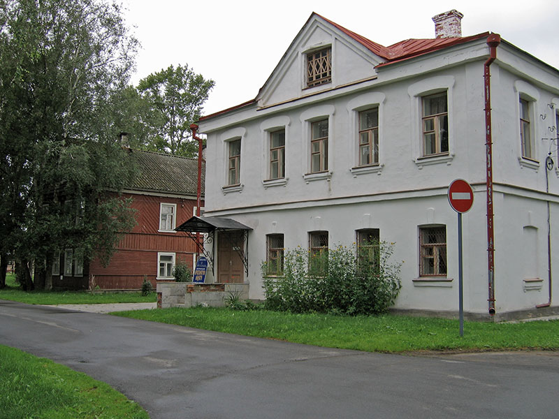 Дома купцов Калязиных, Старая Ладога