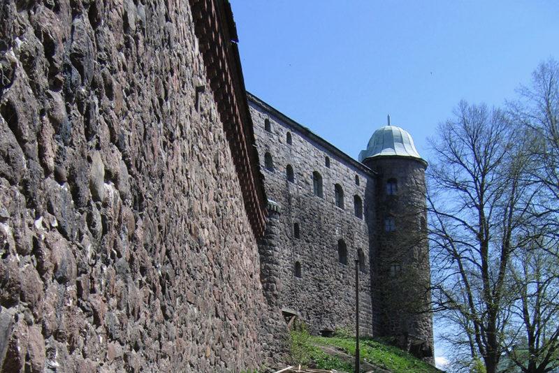 Южная стена Выборгского замка, Выборг