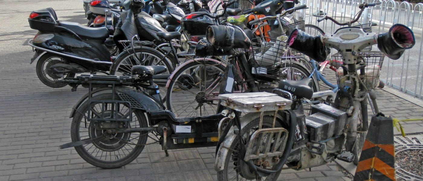Велосипеды в Китае, а также мопеды и мотоциклы