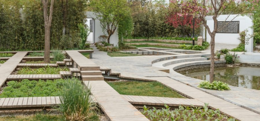 «Персиковый источник» Тао Юаньмина и сад Чандэ