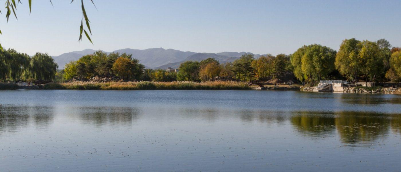Красоты парка Юаньминъюань (центральная и западная части)