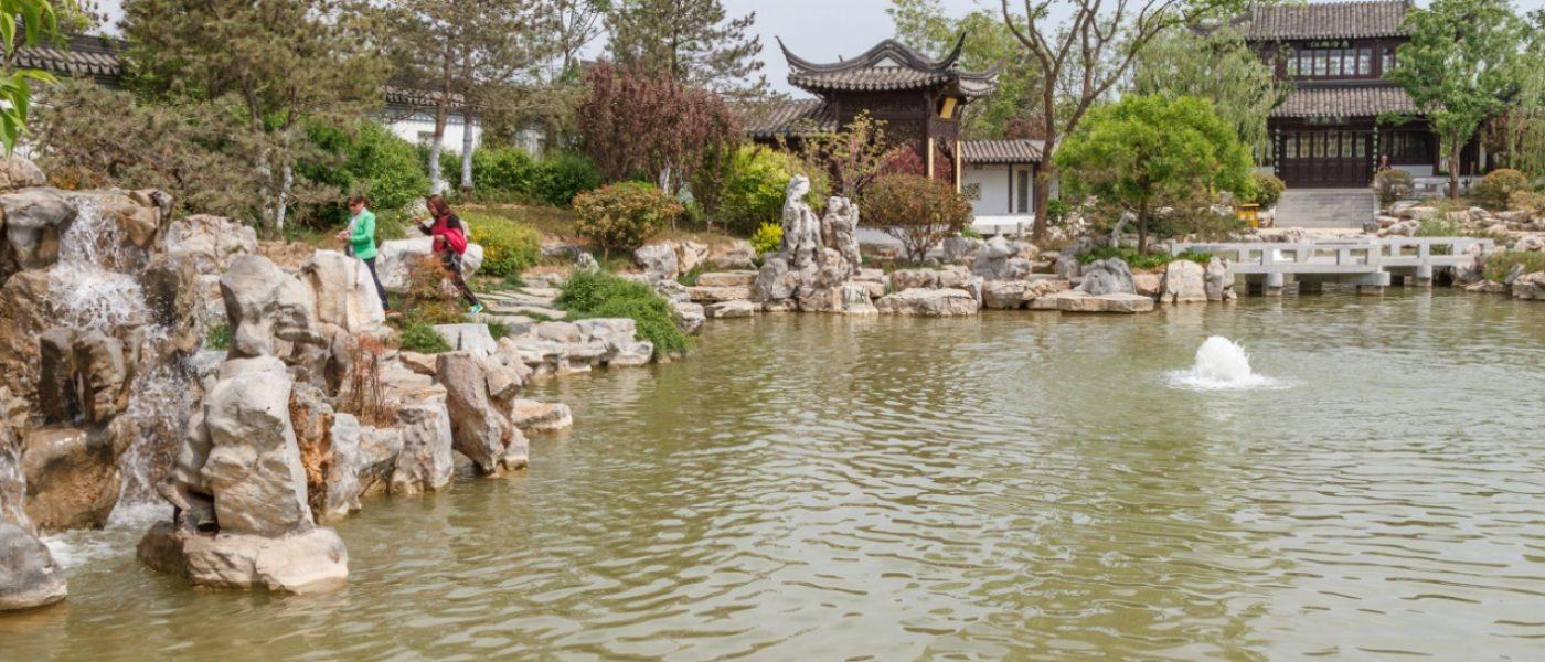 Сад Цзянсу — воспоминания о Цзяннани