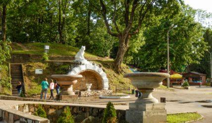 Королевский бастион в Лопатинском саду Смоленска