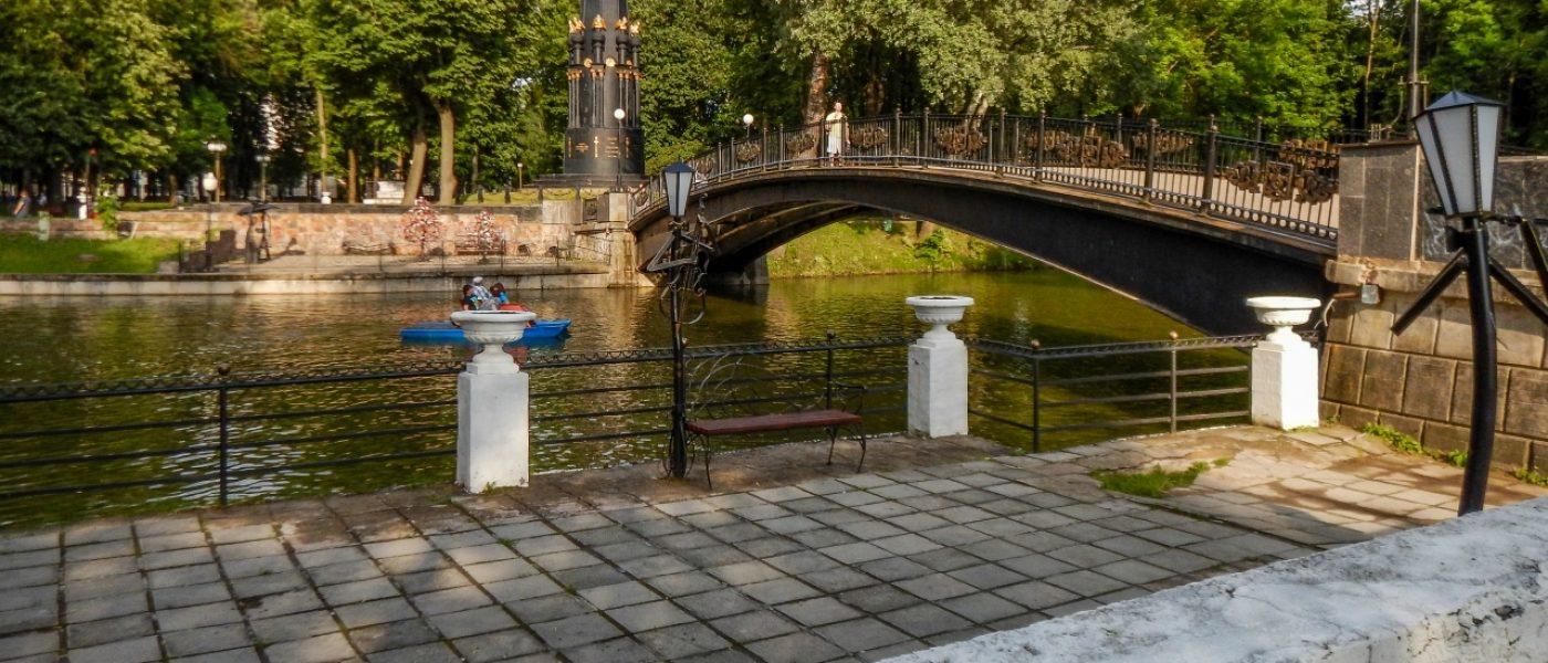 Лопатинский сад в Смоленске: дыхание истории