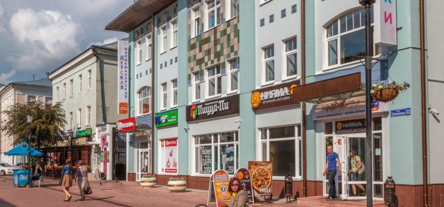 Трехсвятская улица и бульвар Радищева: приятный уголок для прогулок