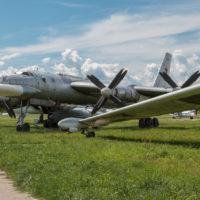 Рязань. Музей Дальней авиации. Часть 4:  стоянка самолетов
